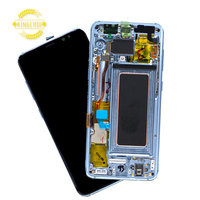 Wholesale price original mobile lcd screen for samsung s8 lcd G950 G950F Lcd Display Touch Screen Digitizer Assembly+Frame