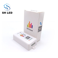 Wifi Pixel LED Remote Controller For WS2812B SK6812 LPD8806 DMX512 1903 RGB/RGBW led controller