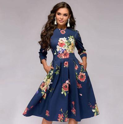 Venta Al Por Mayor Modelo De Vestido Para Gordas Compre