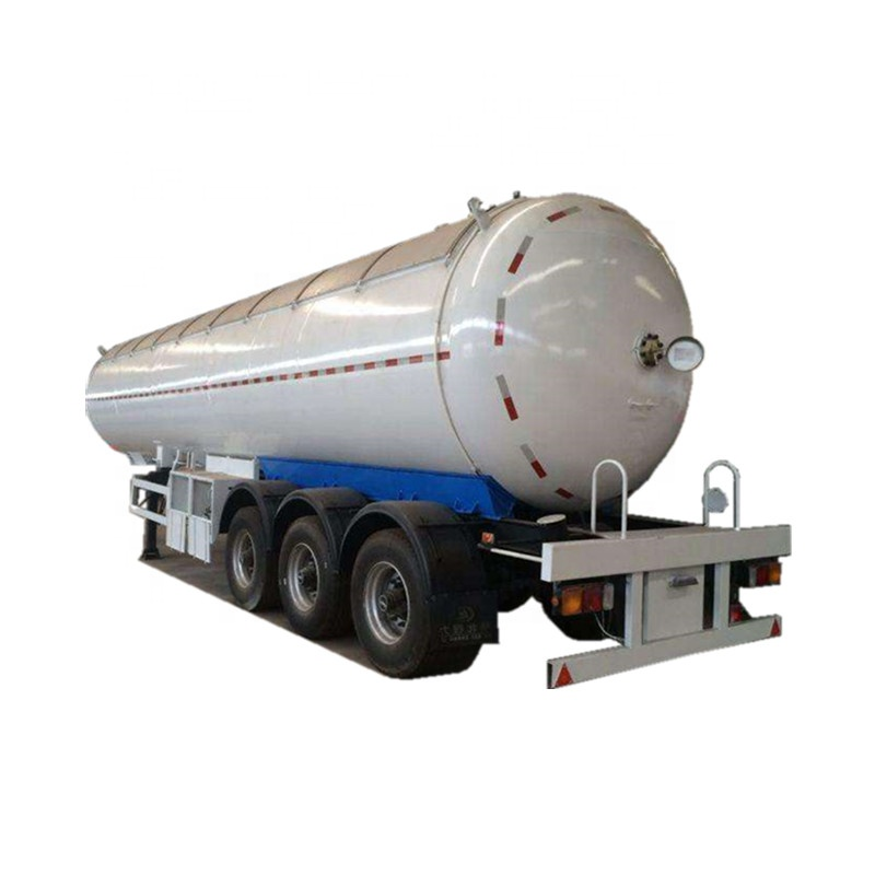 52cbm Pressure Vessels filled with gas pump dispenser filling liquid LPG/Propane, hang semi trailer and truck in sale