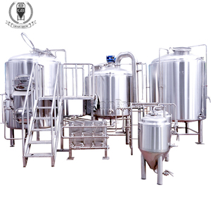 1000L turnkey project of brewery whole set beer brewing equipment beer factory