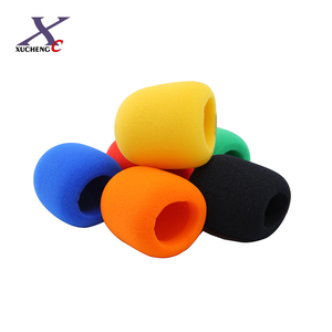 Custom Sponge Microphone Foam Windscreen Sponge Foam Cover For KTV