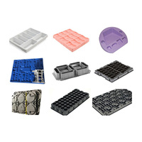 Custom Plastic Thermoforming Tray Electronics Packaging Tray