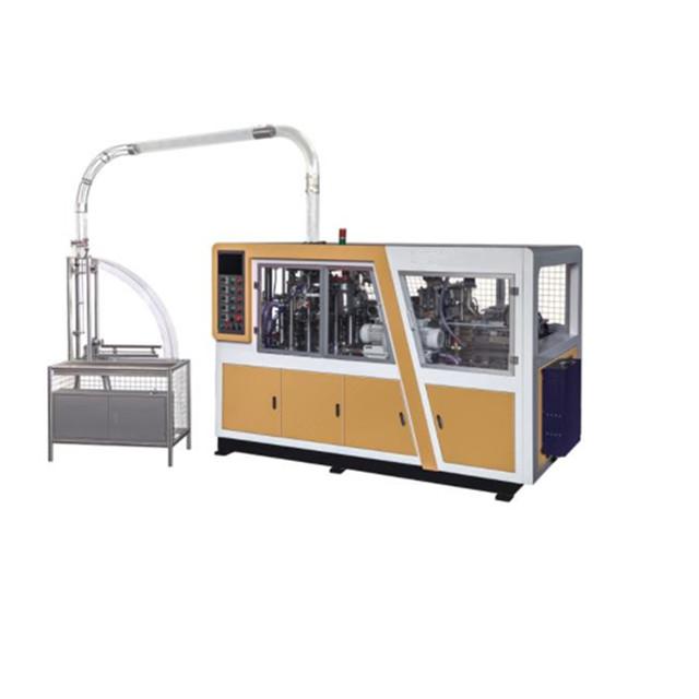Yüksek Hızlı kağıt bardak şekillendirme makinesi Yapmak için Fincan