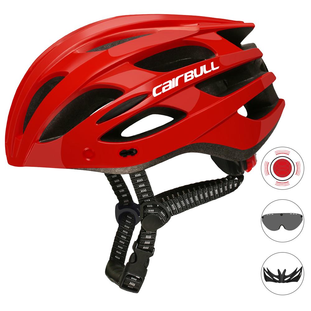 CAIRBULL SPARK XC Trail внедорожный велосипедный шлем для активного образа жизни, путешествий, фитнеса, велосипеда, шлем со светодиодной подсветкой, немецкий шлем