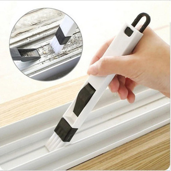 Multifunction Window Brush Groove Handle Cleaning Dustpan Screen Window Cleaning Tools Home Supply