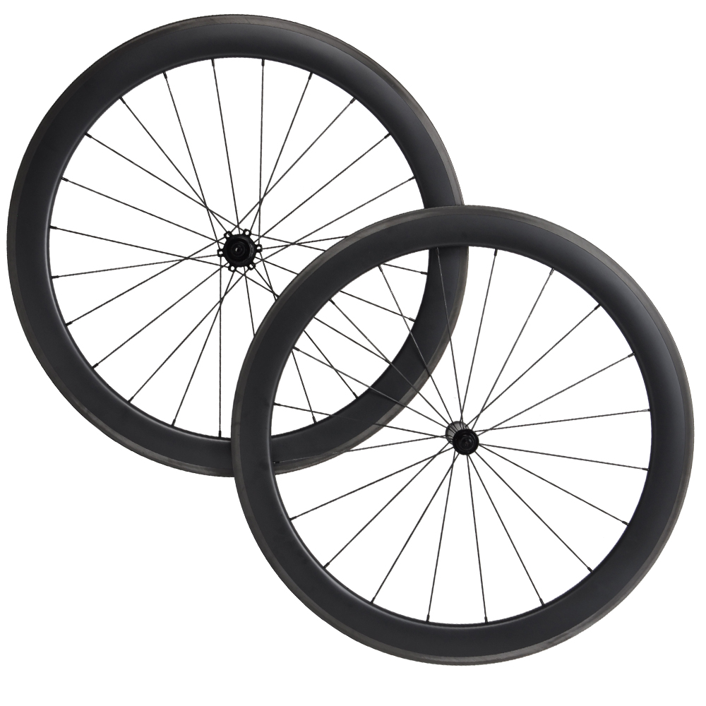 1750g Aero Carbon Fiber Road Bike Wheels 700C Clincher