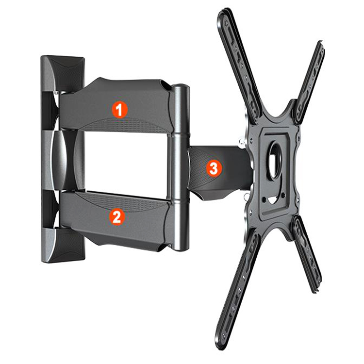 Até Swivel Mount bracket Full Motion LED LCD TV Wall Mount