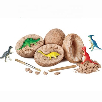 DIY Excavation Tools Plastic Dig Discovery Resin Figure Anime Kids Science Kits Dino Dinosaur Egg Fossil Toy