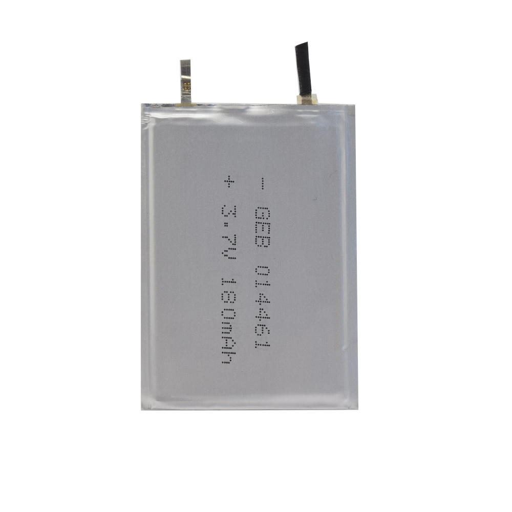 1mm ultra thin lipo 014461 3.7v 180mah rechargeable li-ion <strong>battery</strong>