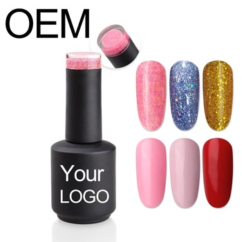 OEM Polacco Del Gel Private Label Soak Off Gel Nail Polish 3 Passo Su Misura Polacco UV Del Gel