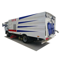 High Pressure Road Washing And Sweeping Truck/Vacuum Road Sweeper Truck/Street Cleaning Truck for sale