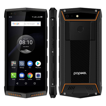 POPTEL P60 5.7 Inch 6GB RAM IP68 Smartphone NFC Waterproof Android Rugged Mobile Phone
