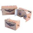 Custom virtual reality cardboard google smart glasses v2.0 plus