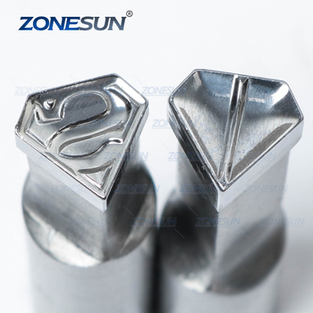 ZONESUN Super-Man Milk Tablet Die 3D Punch Press Mold Candy Punching Die Custom Logo Calcium Tablet Punch Die For TDP 0 Machine