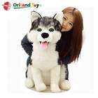 New Plush Toy Cute Husky Gift 70cm dog stuffed animals