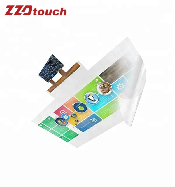 40 Inch 40 points Customize Size Multi Touch Foil For Touch Table/LED TV/Projector Touch Screen