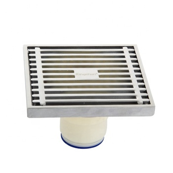 (J8002)Taizhou supplier Bath shower drain brass plastic floor drain