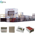 China professional aluminum egg tray small paper box making machines recycling machines paper making