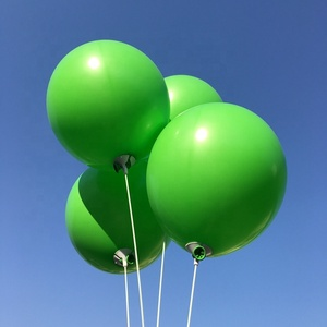 Party decoration Green color Festival latex balloons