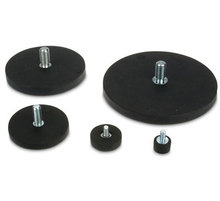 D22 D43 D66 D88mm Rubber Coated Neodymium Pot/Auto Holding <span class=keywords><strong>Magneet</strong></span>