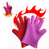 2019 New Design Oven Gloves Heat Resistant Gloves for Dish Washing