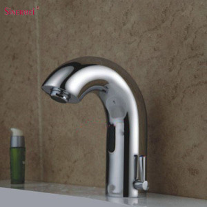 Single Hole Deck Mounted Automatic Sensor Sink Faucet Water Tap Sensor Faucet SEM-6610