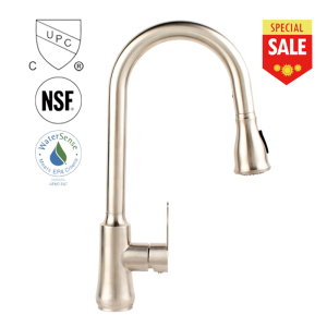 Single Handle High Arc Pull down Kitchen sink mixer Faucet