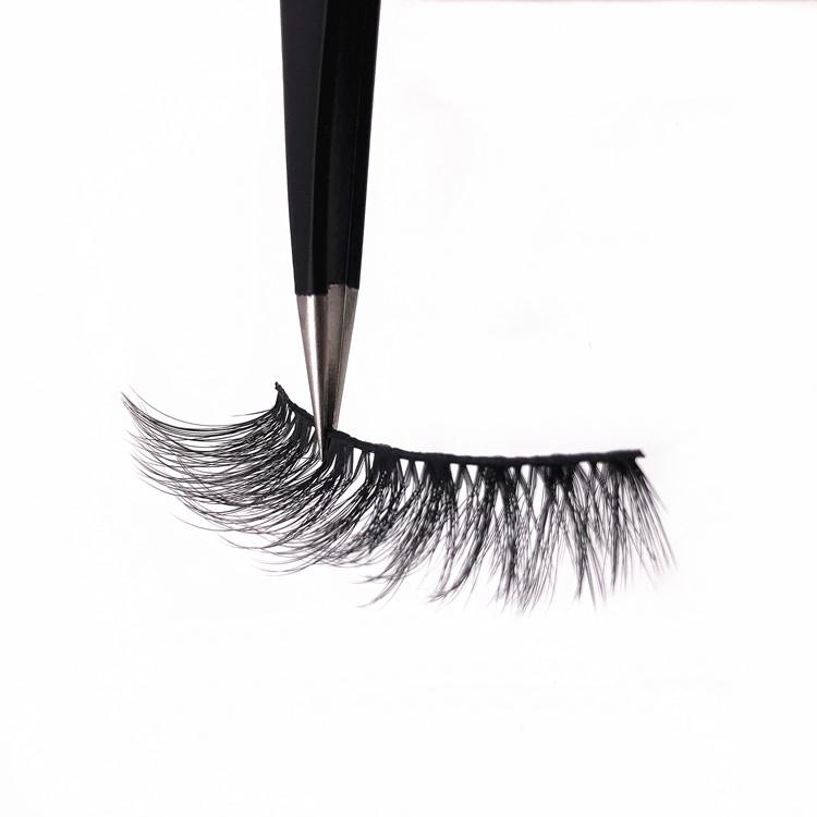 High Quality 3d Silk Eyelashes Faux Mink Eyelash Custom Packaging Box, N/a
