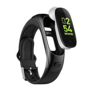 FITUP v08s OSRAM reloj smart watch bluetooth 4.0 intelligent watch bracelet business earphones smartwatch with calorie counting