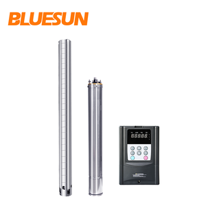 Bluesun 1HP 5HP 10HP 100HP solar water pump submersible pump farm use solar system for irrigation pumps