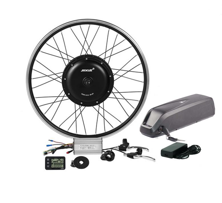 48v 1000w high quality electric bike kit brushless rear motor wheel of ebike conversion kit