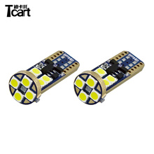 Tcart 7 الألوان ل اختيار <span class=keywords><strong>السيارات</strong></span> الإضاءة نظام T10 W5W 3030 12smd في canbus 6 w 600lm <span class=keywords><strong>السيارات</strong></span> مؤشر led ضوء