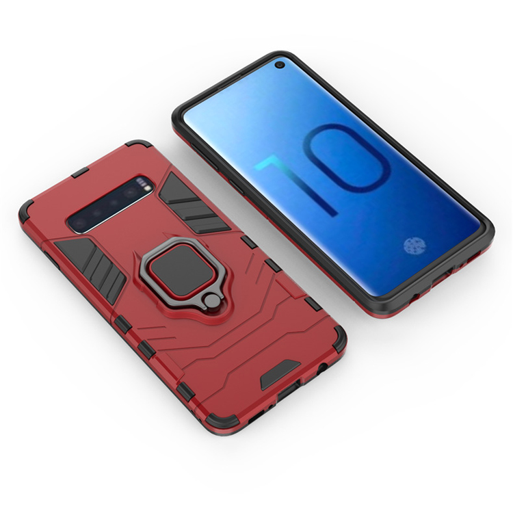 Magnetic Ring phone Case For Samsung s8 S10 S10 lite S10 plus S8 plus S9 S9 plus фото