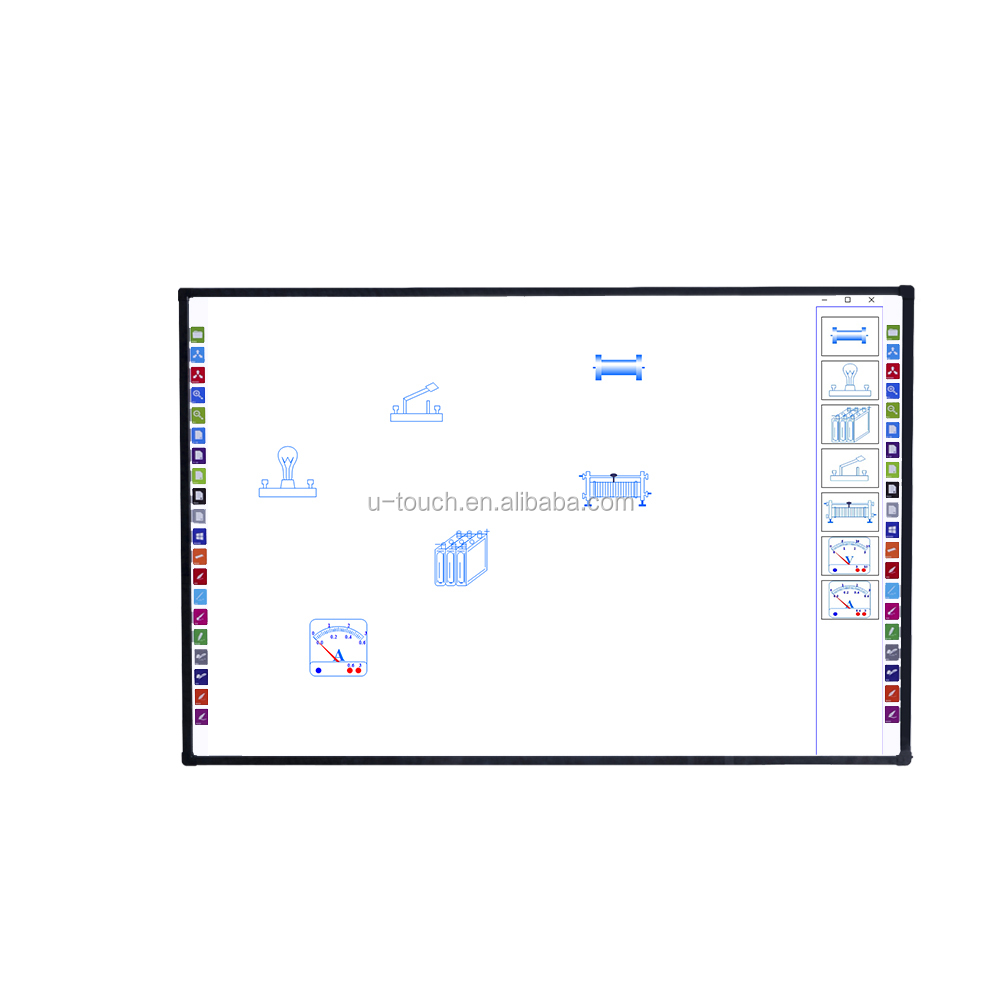 86 inch interactieve digitale whiteboard/smart board touch screen/whiteboard klaslokaal