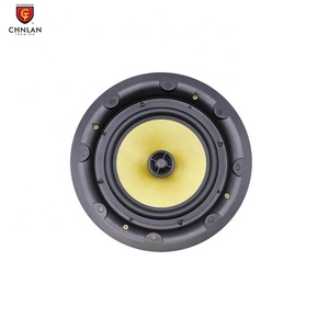Image of CS-44 8 ohm Coaxial HIFI Speaker System Edgeless 4 inch Ceiling Recessed Speakers for Home Theatre System