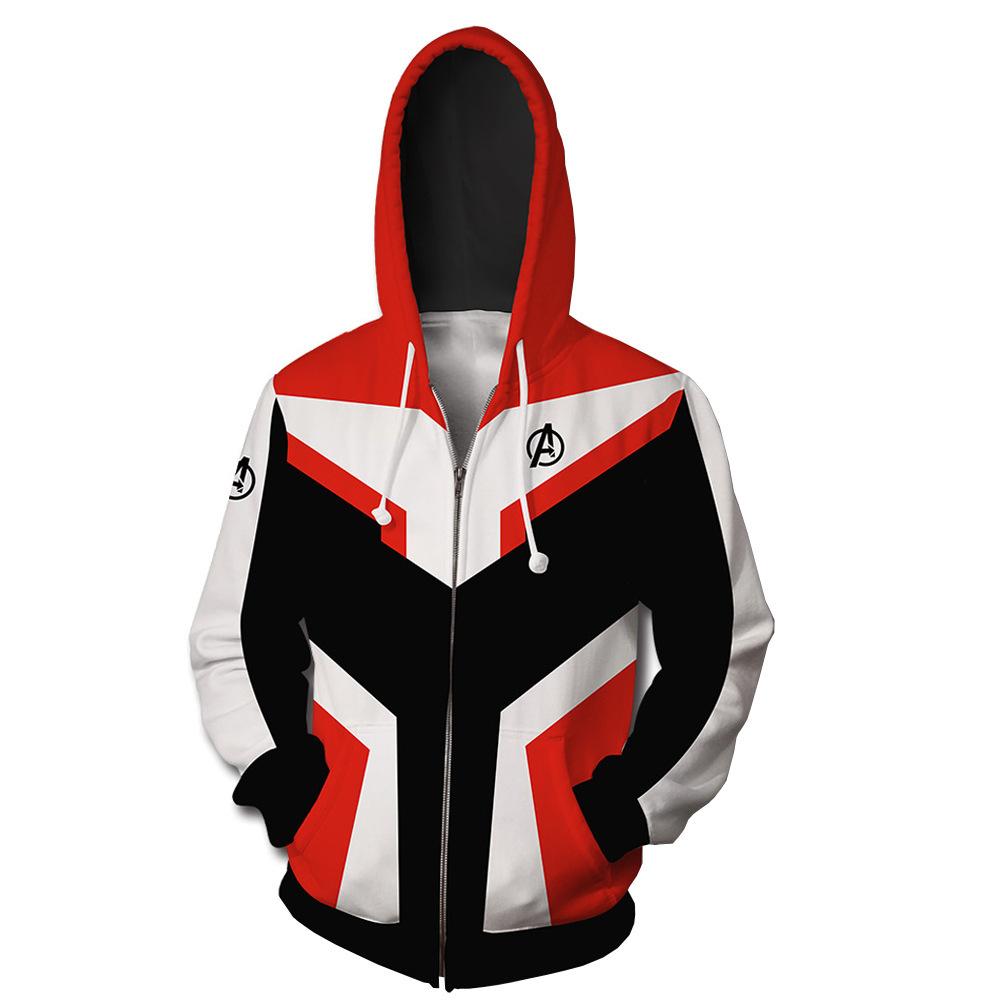 Avengers 4 Endgame Quantum Realm Hoodie Pullover Sweatshirt Sweater Coat Pants