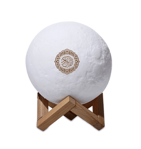 2019 New Created  Bluetooth Speaker Quran Touch Moon Lights LED Lamp Remote Control Rechargeable Moonlamp
