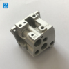 ISO Manufacturer Supply OEM service aluminum die casting parts with surface sandblast and clear anodizing
