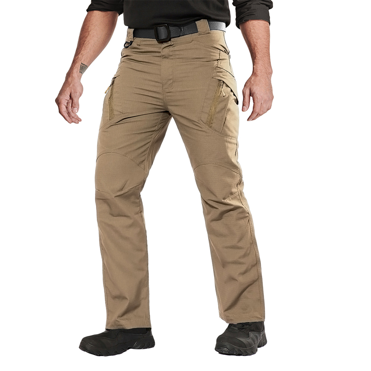 Summer Side Pocket Combat Walking Trekking Trousers,65 polyester 35 cotton Pants Male,Tactical Ripstop Training Pants For Men