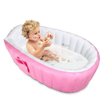 2019  Baby Bath Tub Cushion Warm winner keep warm folding Portable bathtub inflatable bath tub ortable  bathtub