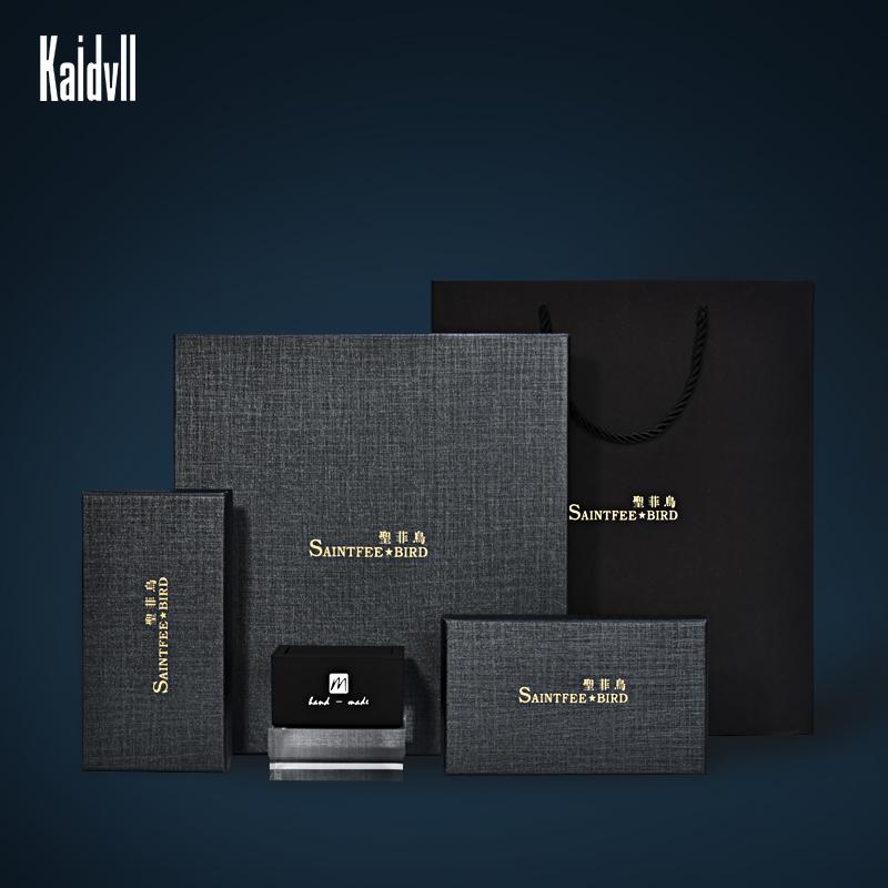 Luxury Best Gift Men Bow Tie Paper Packaging Box for Tie