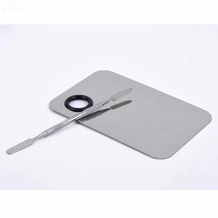Good Price Hand Steel Makeup Cleaning Plate фото