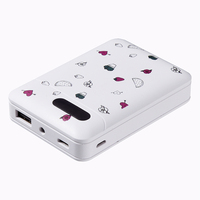 Cheap price Customize logo 6000mah 10000mah portable power bank with LED light for smart phones