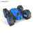 Bricstar funny kids friction toy rc stunt car 2.4g with rotation and flip