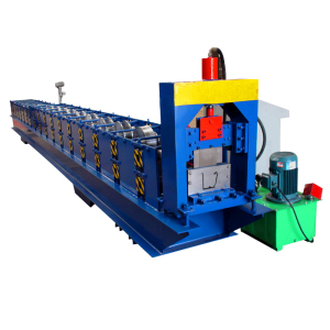 2019 new design High rib gutter aluminum sheet metal machine