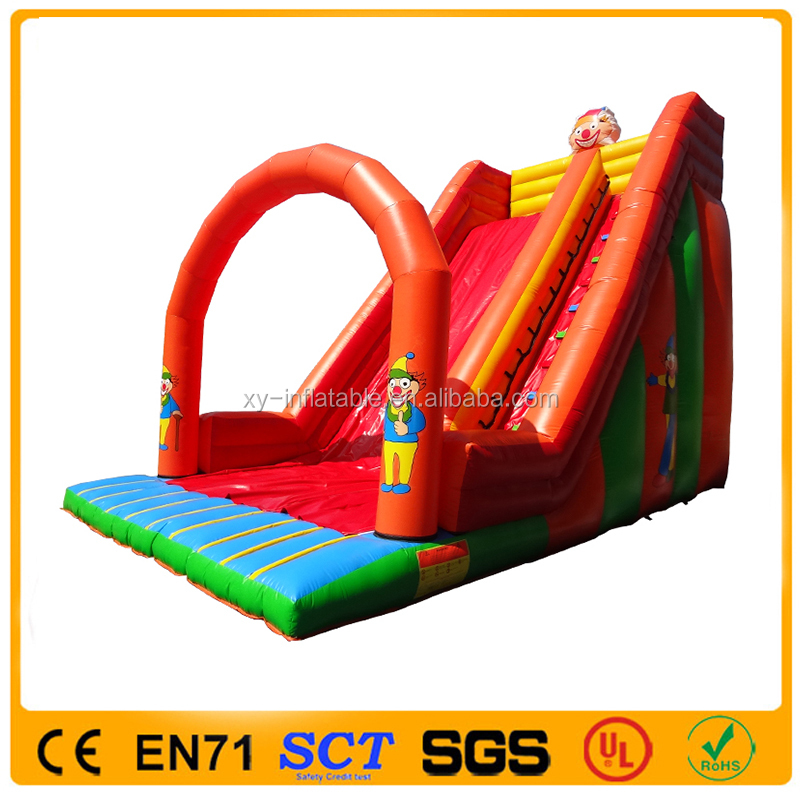 Custom Made Inflatable Swimming Pool Water Slide,Giant Inflatable Slide Bouncer for Kids