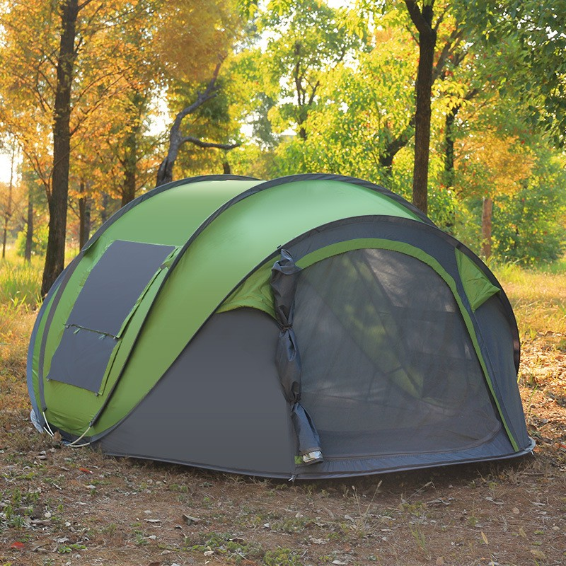 5-6 persons Automatic Speed Open Throwing Pop Up Windproof Outdoor Camping Tent