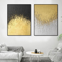 decorative picture abstract canvas painting wall art quotes artwork painting wall art set