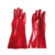 Cheap red PVC dipped gloves rubber dipped gloves